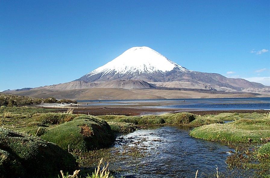 Foto de volc n parinacota chile for Marmoles y granitos zona norte