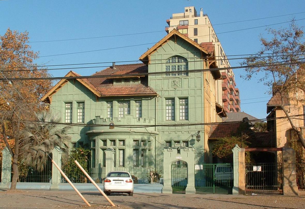 Foto de santiago chile for Casas en chile santiago