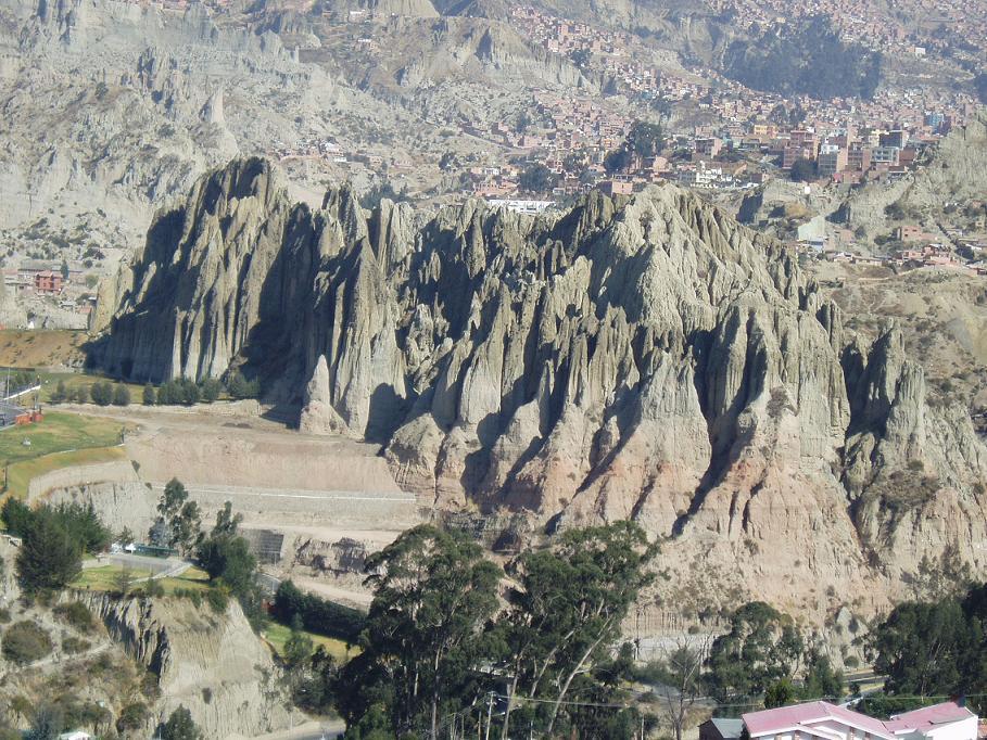 Foto de la paz bolivia for Cementerio jardin la paz bolivia