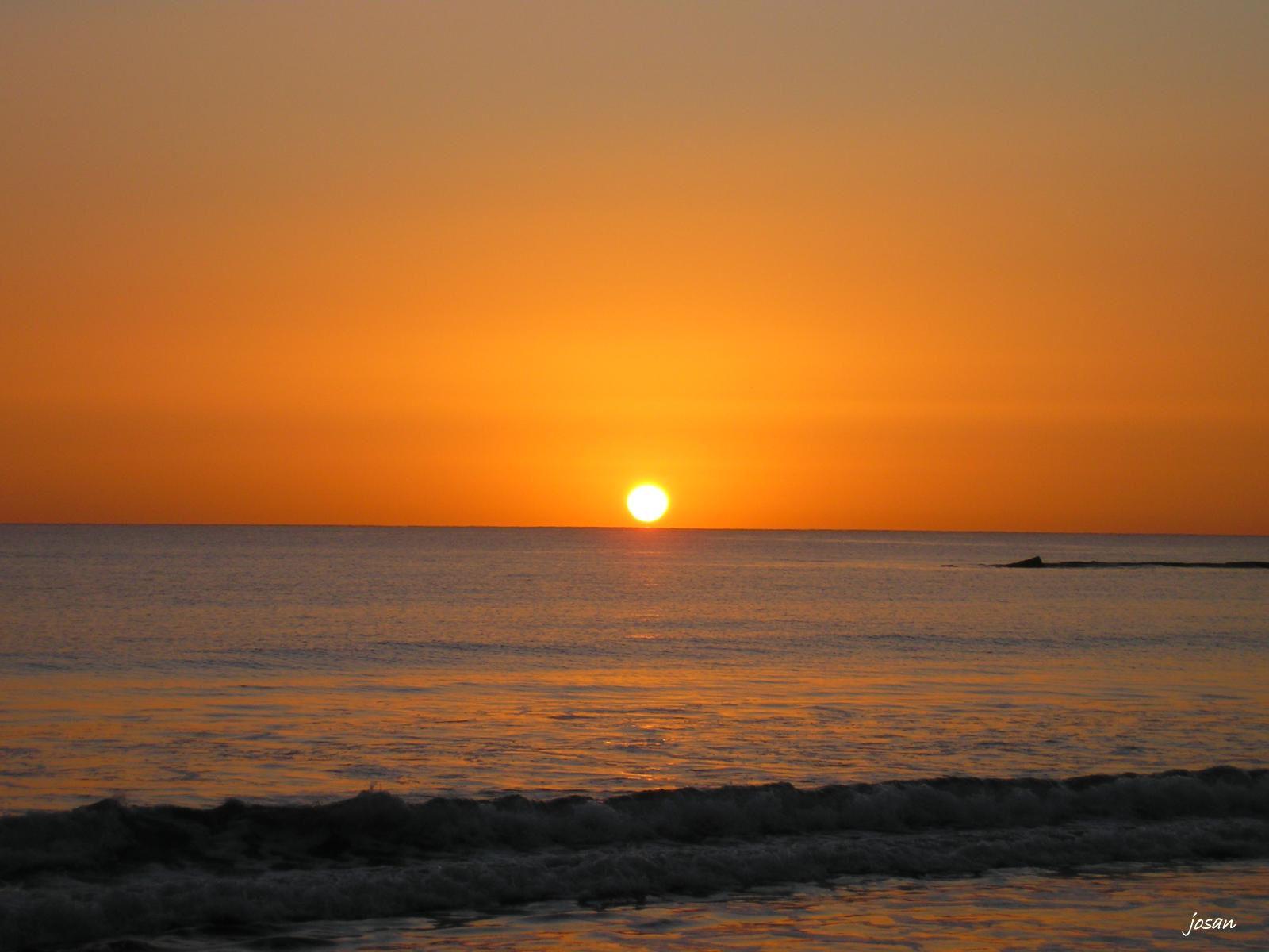 Foto amanecer en la playa de la laja las palmas de gran - Fotografia las palmas ...