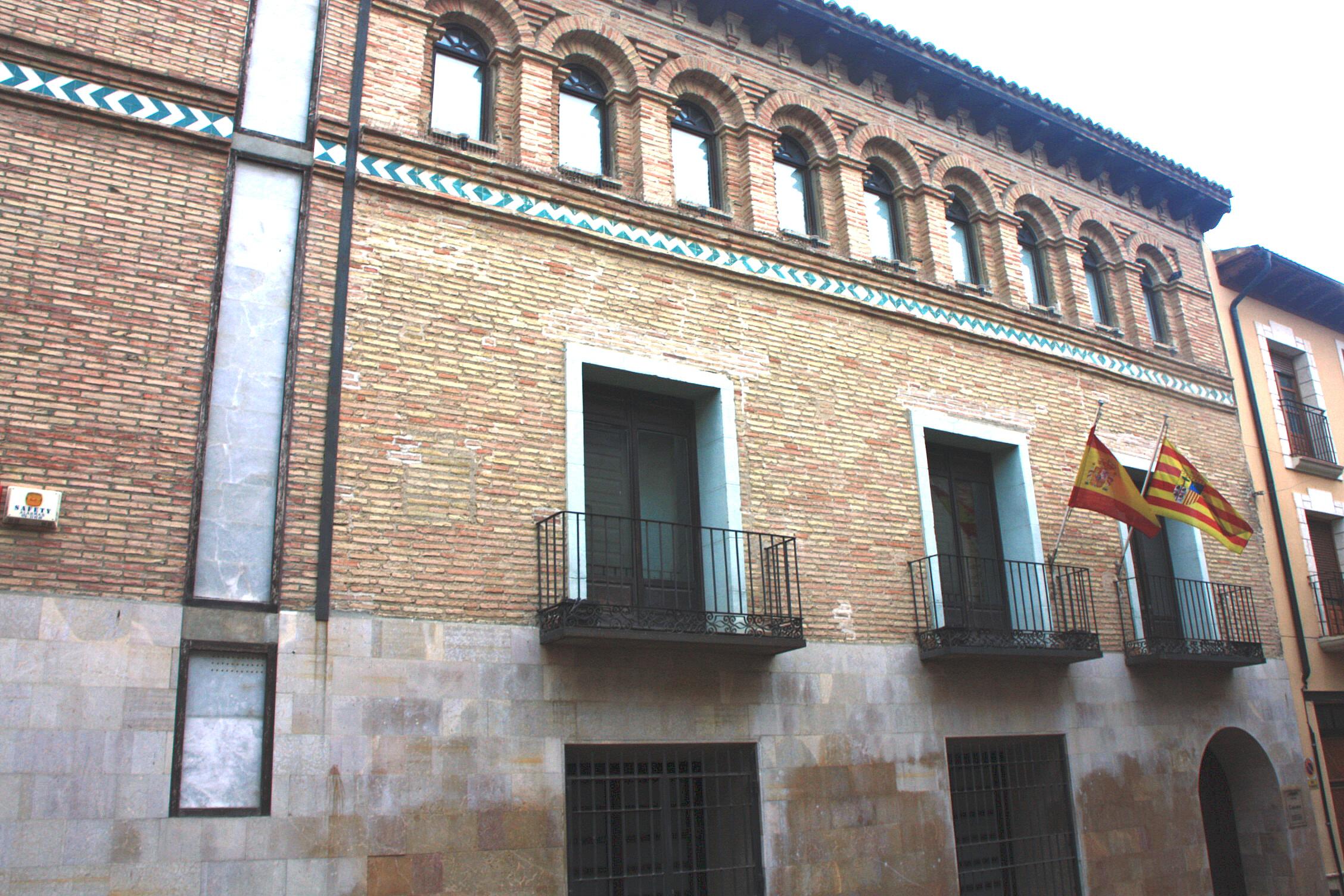 Foto centro hist rico ejea de los caballeros zaragoza - Centro historico de madrid ...