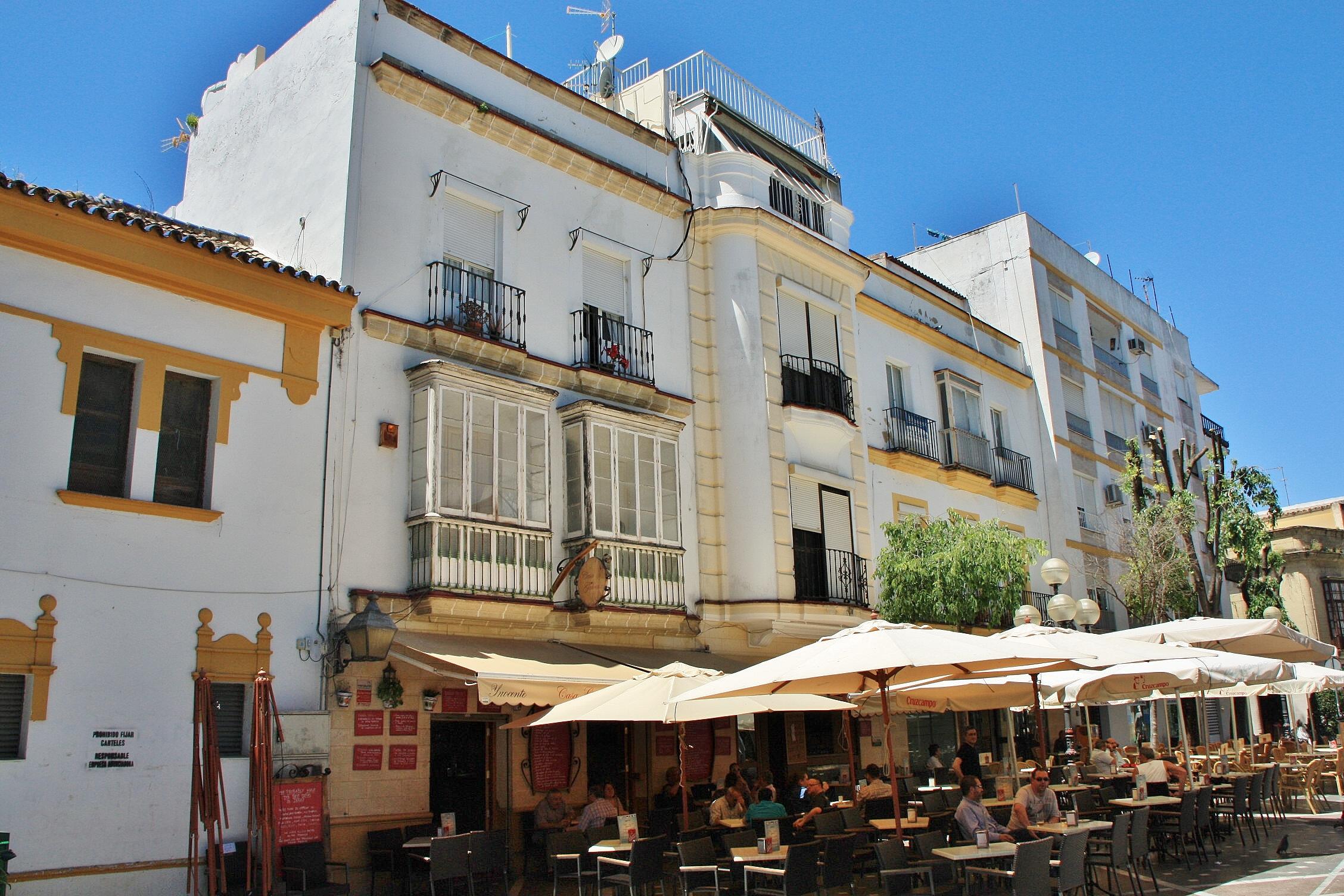 Foto centro hist rico jerez de la frontera c diz espa a - Centro historico de madrid ...