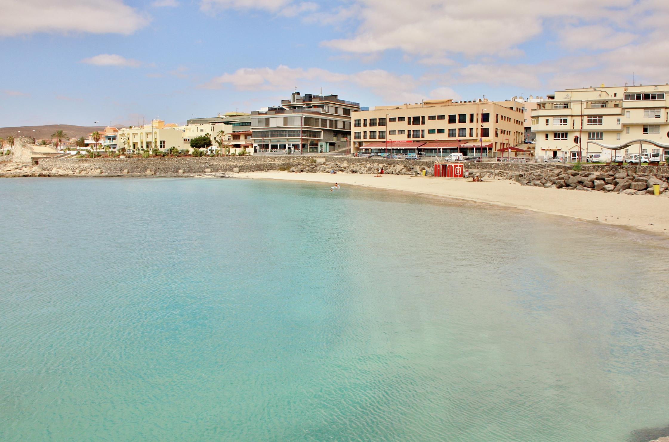 Foto playa puerto del rosario fuerteventura las - Fotografia las palmas ...