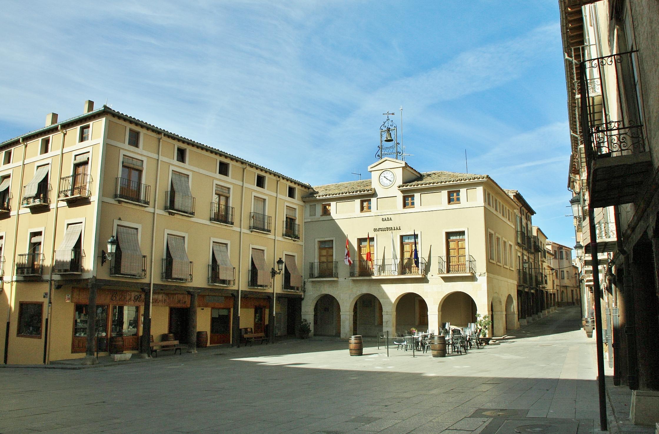 Foto centro hist rico san esteban de gormaz soria espa a - Centro historico de madrid ...