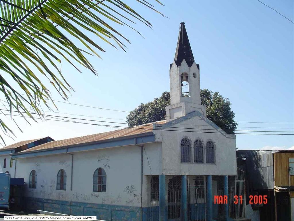 Resultado de imagen para Ermita de Barrio Claret, san jose, costa rica