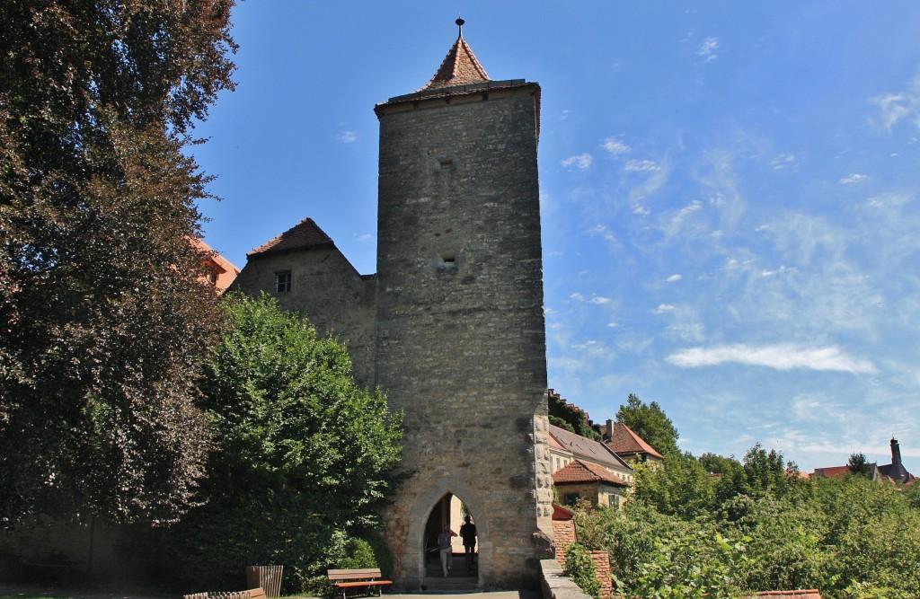Foto murallas rothenburg ob der tauber bavaria alemania - Rothenburg ob der tauber alemania ...