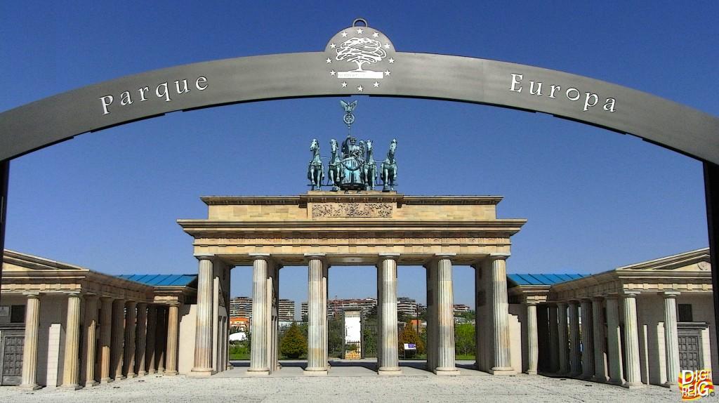 Foto entrada del parque europa torrej n de ardoz - Fotos de torrejon de ardoz ...