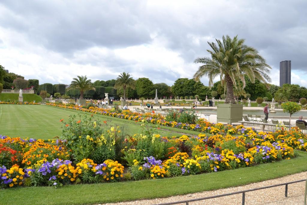 Foto jardines de luxemburgo par s le de france francia for Jardines de luxemburgo paris