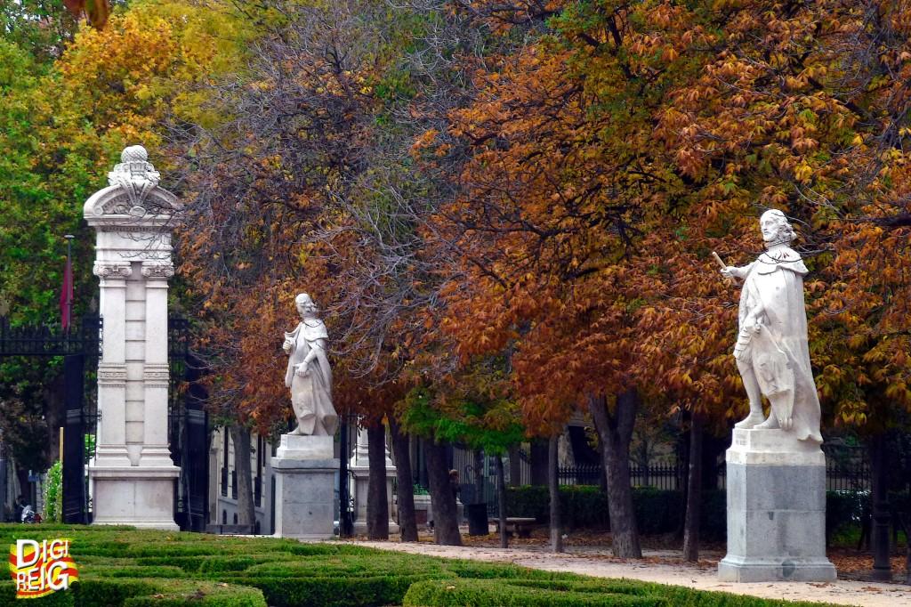 Resultado de imagen de paseo de las estatuas