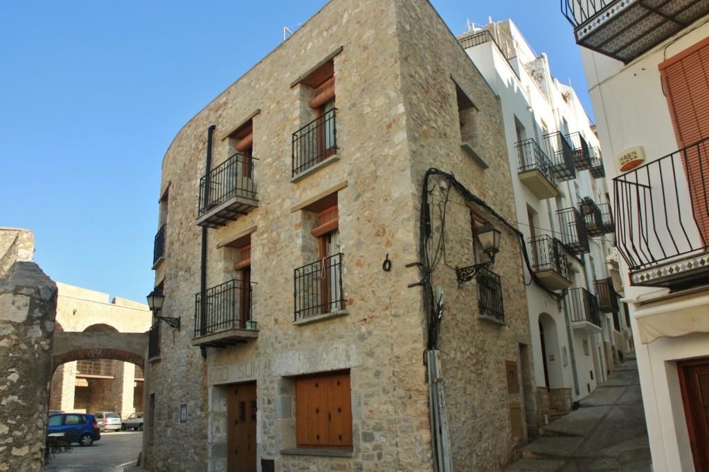 Foto centro hist rico pe scola castell espa a - Centro historico de madrid ...