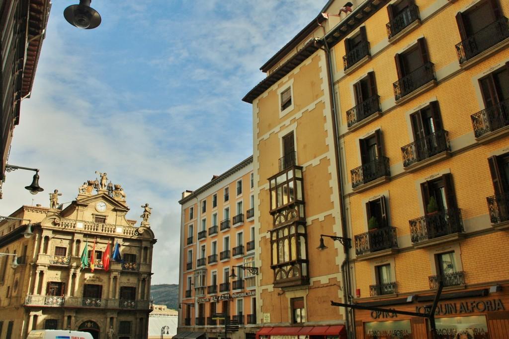 Foto centro hist rico pamplona navarra espa a - Pamplona centro historico ...
