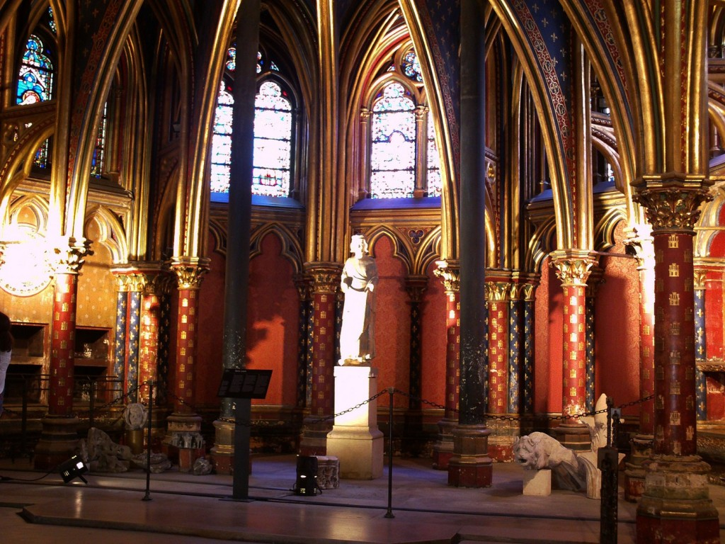 Foto: SAINTE CHAPELLE - Paris, Francia