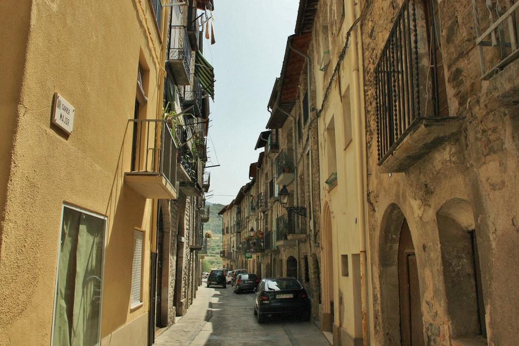 Foto centro hist rico la pobla de segur lleida espa a - Centro historico de madrid ...