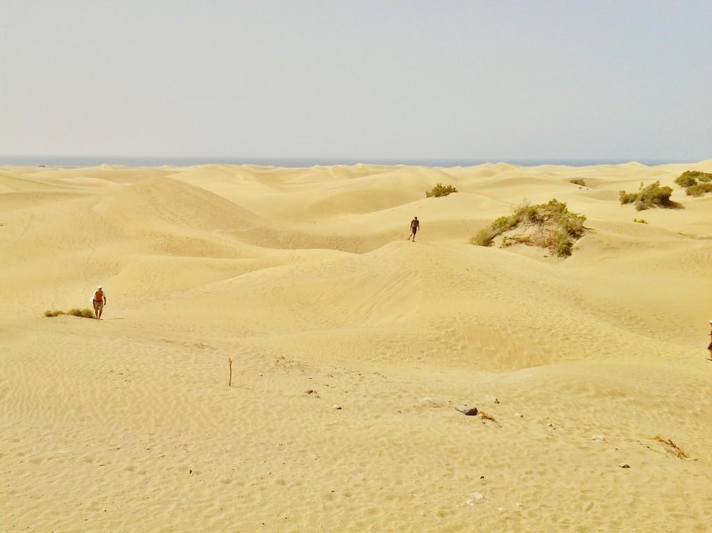 Foto dunas maspalomas gran canaria las palmas espa a - Fotografia las palmas ...