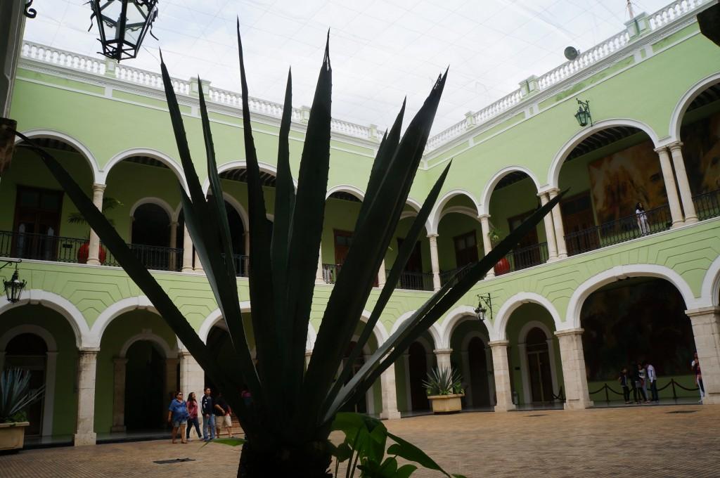 Foto henequen edificiode la secretaria de turismo for Oficina de turismo de merida