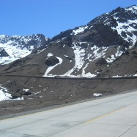 Foto: ruta internacional, covertizos - Los Andes, Chile