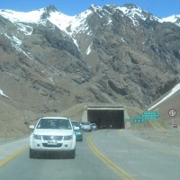 Foto: Ruta Internacional,covertizos - Los Andes, Chile