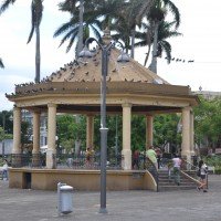 Foto: Kiosco Parque Central - Heredia, Costa Rica