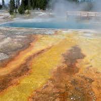 Foto: West Thumb Geyser Basin - Yellowstone NP, Estados Unidos