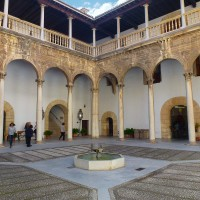 Foto: Patio de los Inocentes en Antiguo Hospital Real. - Granada, España