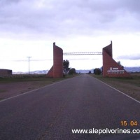 Foto: Acceso a Saavedra - Saavedra, Argentina
